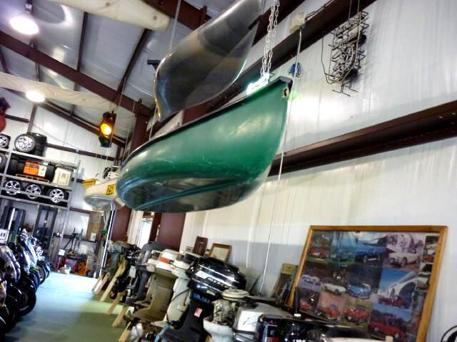 2007 Gheenoe 16 ft Super flat back canoe set up for engine great fun in the