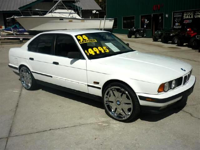1994 BMW 5-Series 525i 20 inch wheels music and more