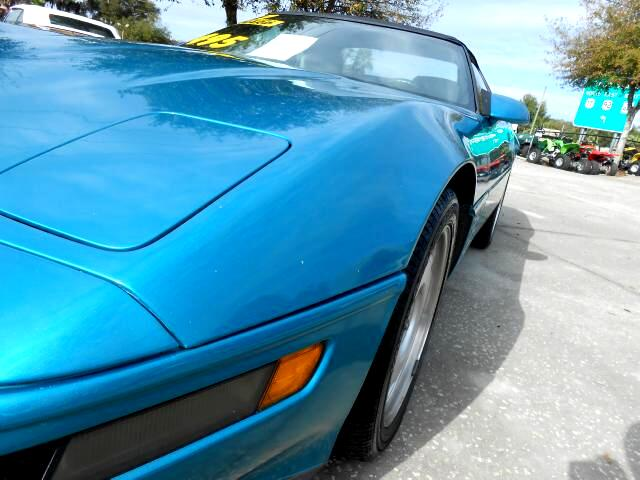 1992 Chevrolet Corvette Convertible LT1 v8 engine new tires clean car