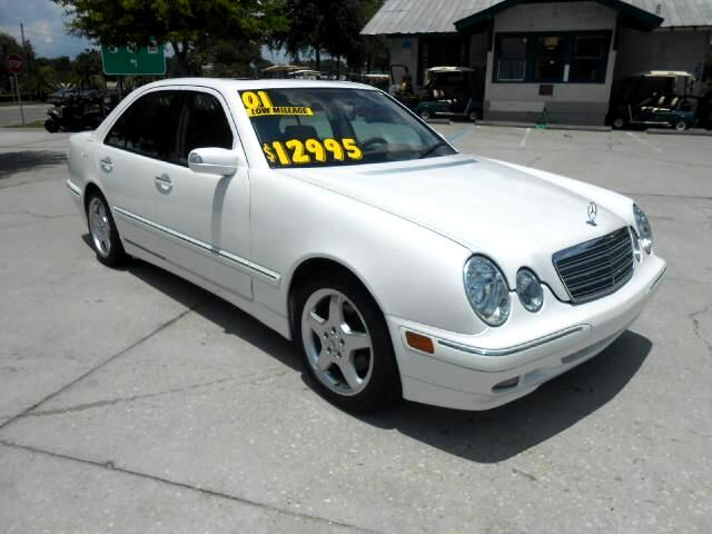 2001 Mercedes-Benz E-Class E320 Low mileage awesome sound system