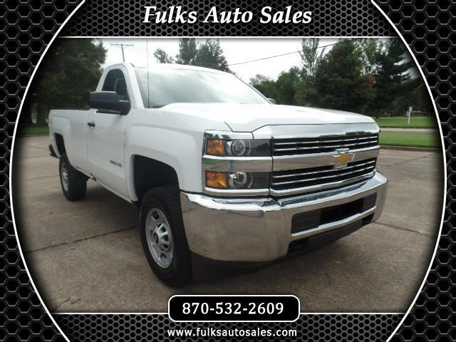 2016 Chevrolet Silverado 2500HD Work Truck Long Box 2WD