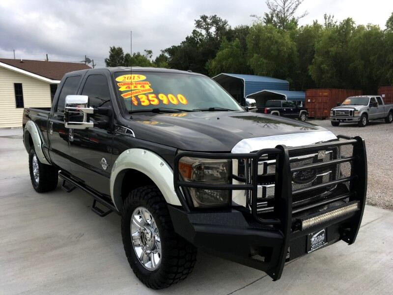 "2015 Ford F-250 SD 4WD Crew Cab 172"" XL"