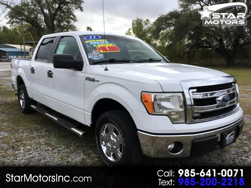 2013 Ford F-150 Super Crew 2WD XLT