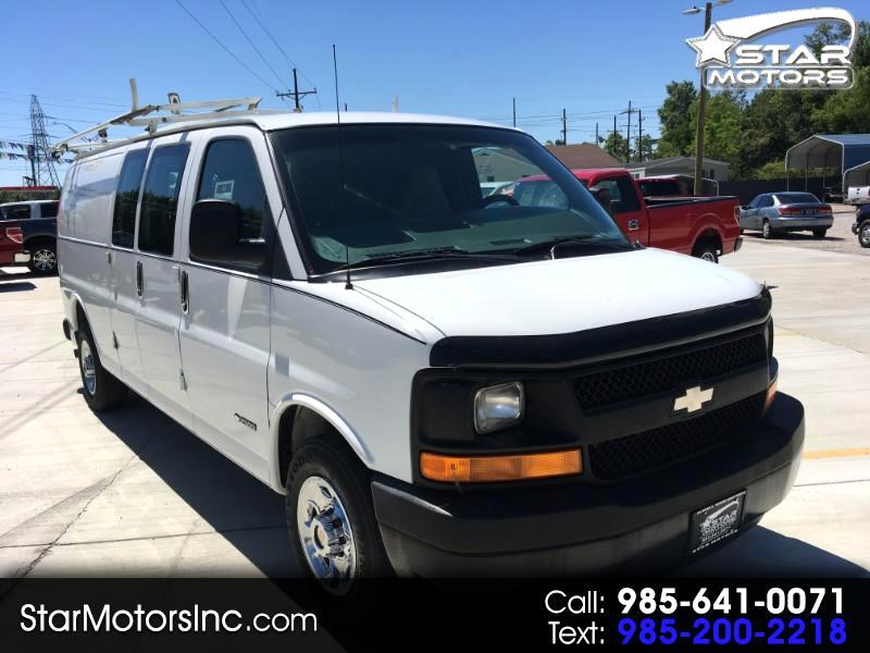 Chevrolet Express 2500 Extended Cargo 2003