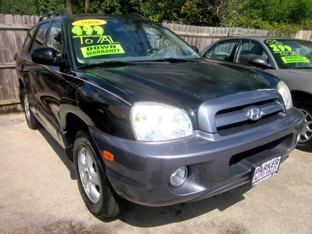 2006 Hyundai Santa Fe 4dr GLS 4WD 2.7L Auto