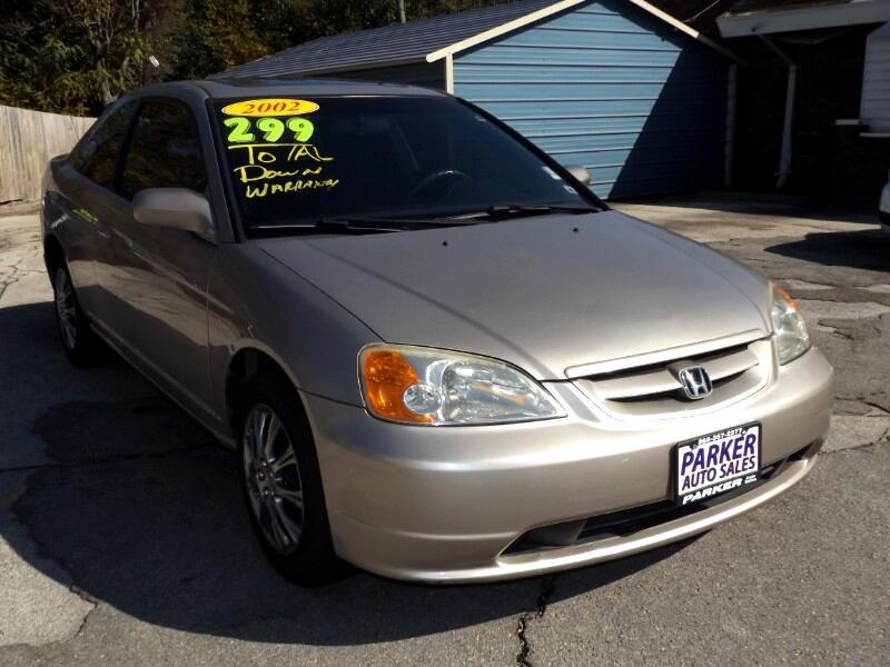 2002 Honda Civic 2dr Cpe EX Auto