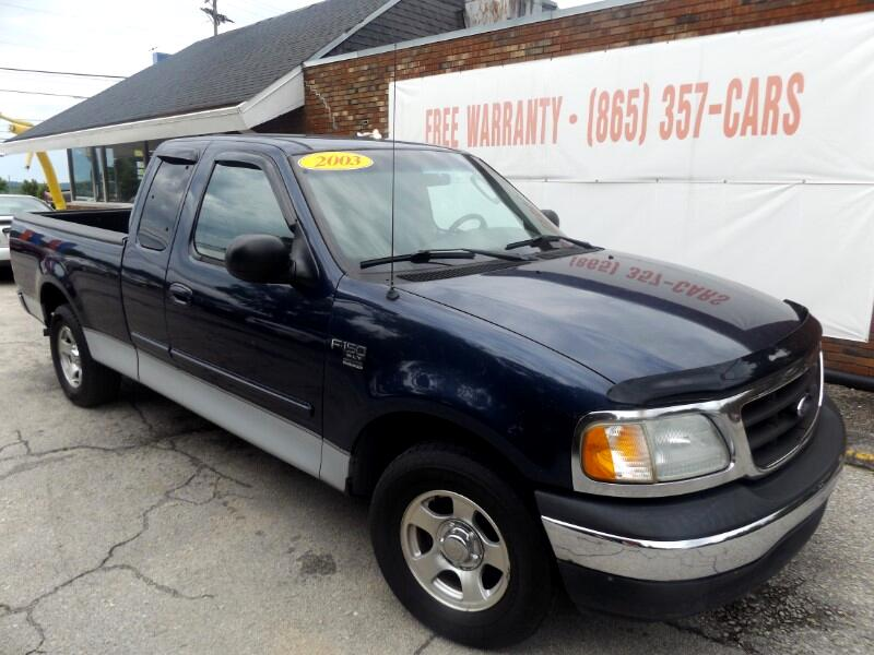 """2003 Ford F-150 Supercab 139"""" XLT Heritage"""