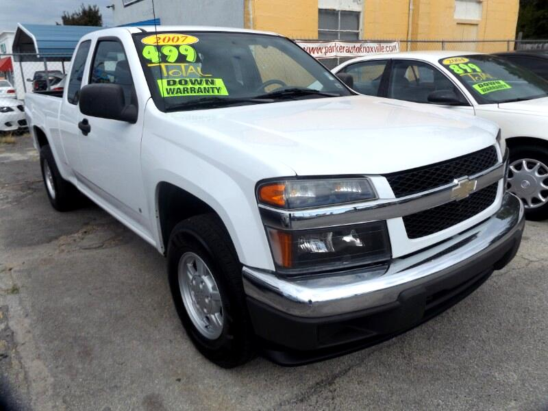 "2007 Chevrolet Colorado 2WD Ext Cab 125.9"" LT w/1LT"