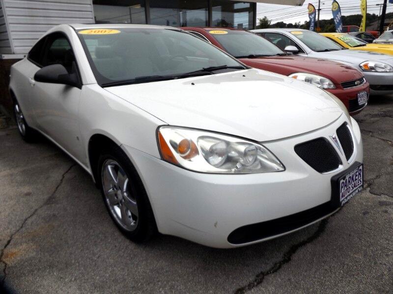 2007 Pontiac G6 2dr Cpe GT