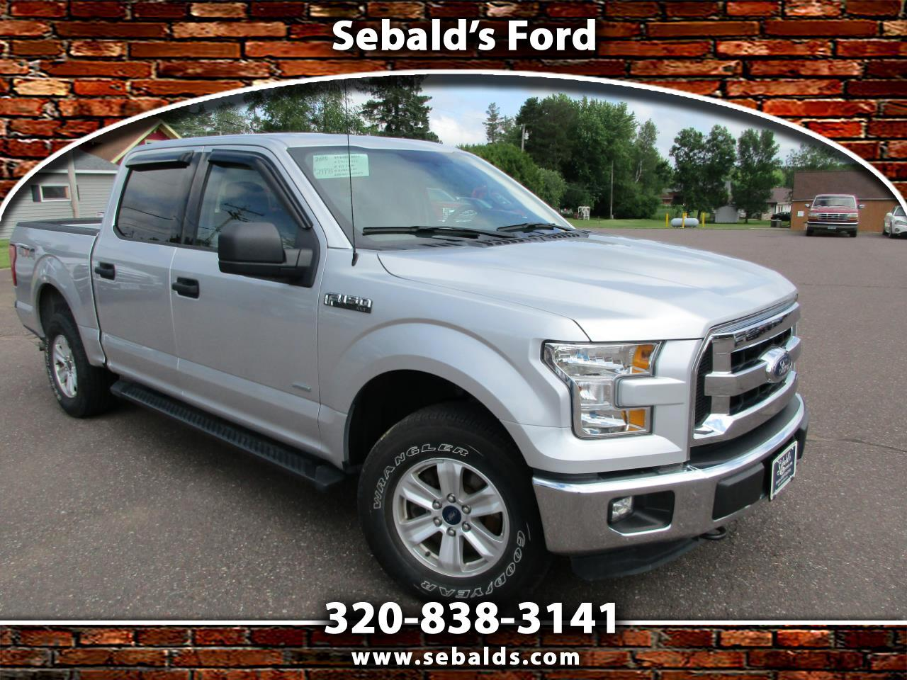 "2015 Ford F-150 4WD SuperCrew 145"" XLT"