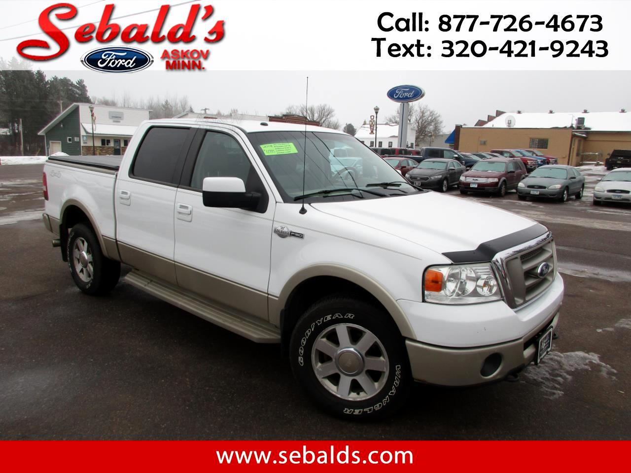 "2008 Ford F-150 4WD SuperCrew 139"" King Ranch"