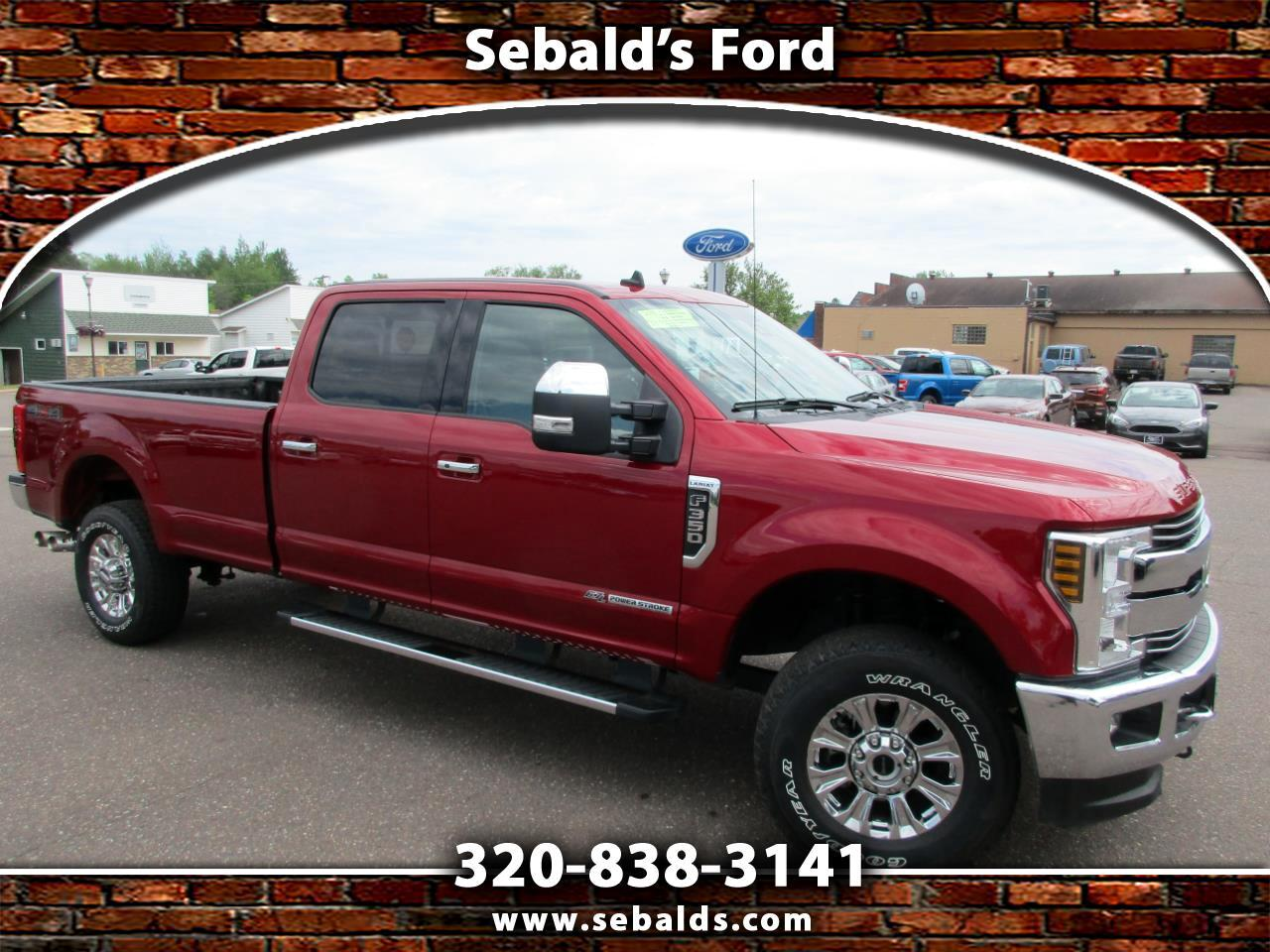 2019 Ford Super Duty F-350 SRW Lariat 4WD Crew Cab 8' Box