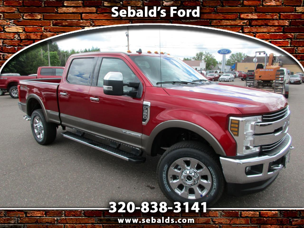 2019 Ford Super Duty F-350 SRW LARIAT 4WD Crew Cab 6.75' Box