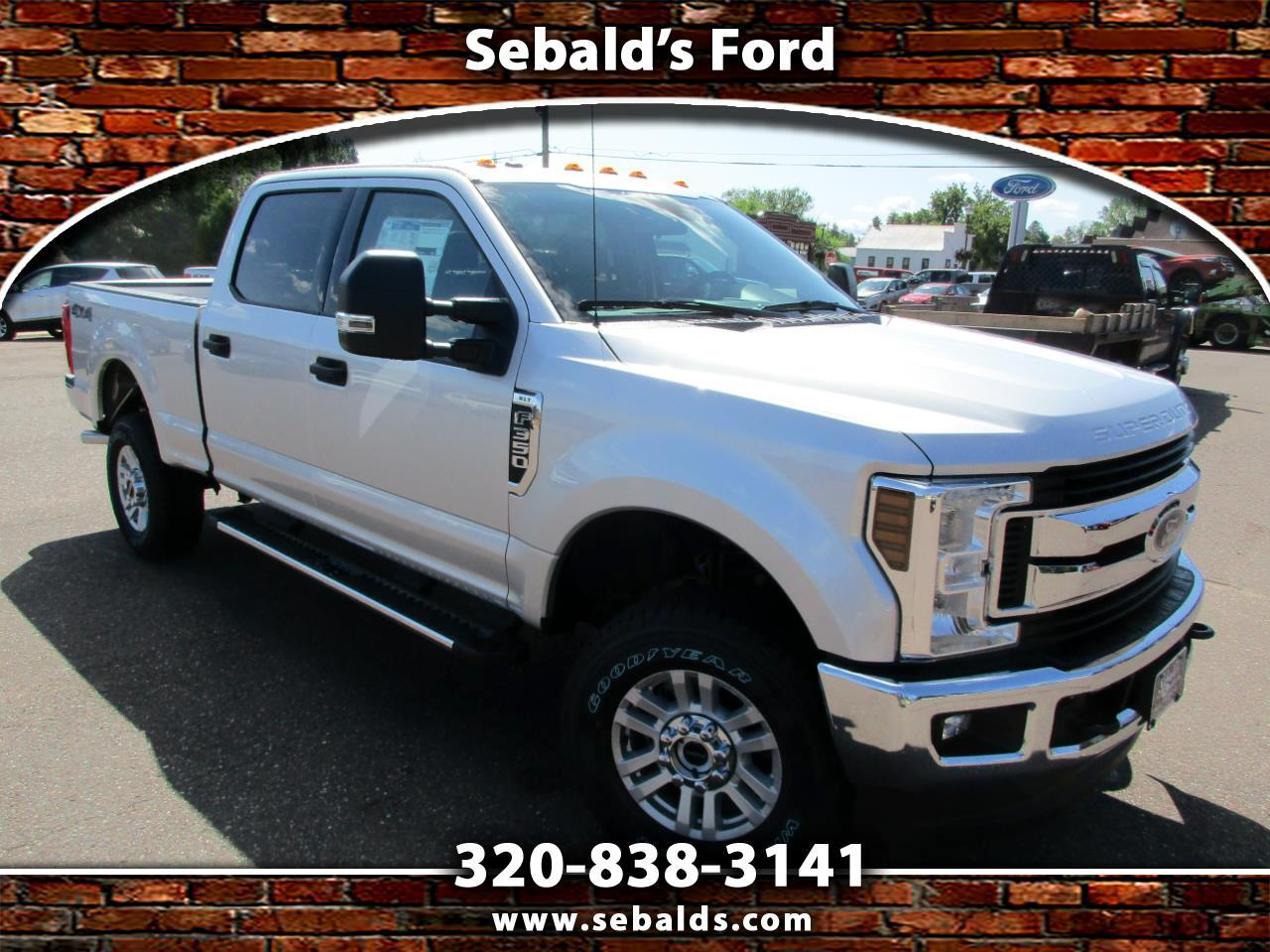2019 Ford Super Duty F-350 SRW XLT 4WD Crew Cab 6.75' Box