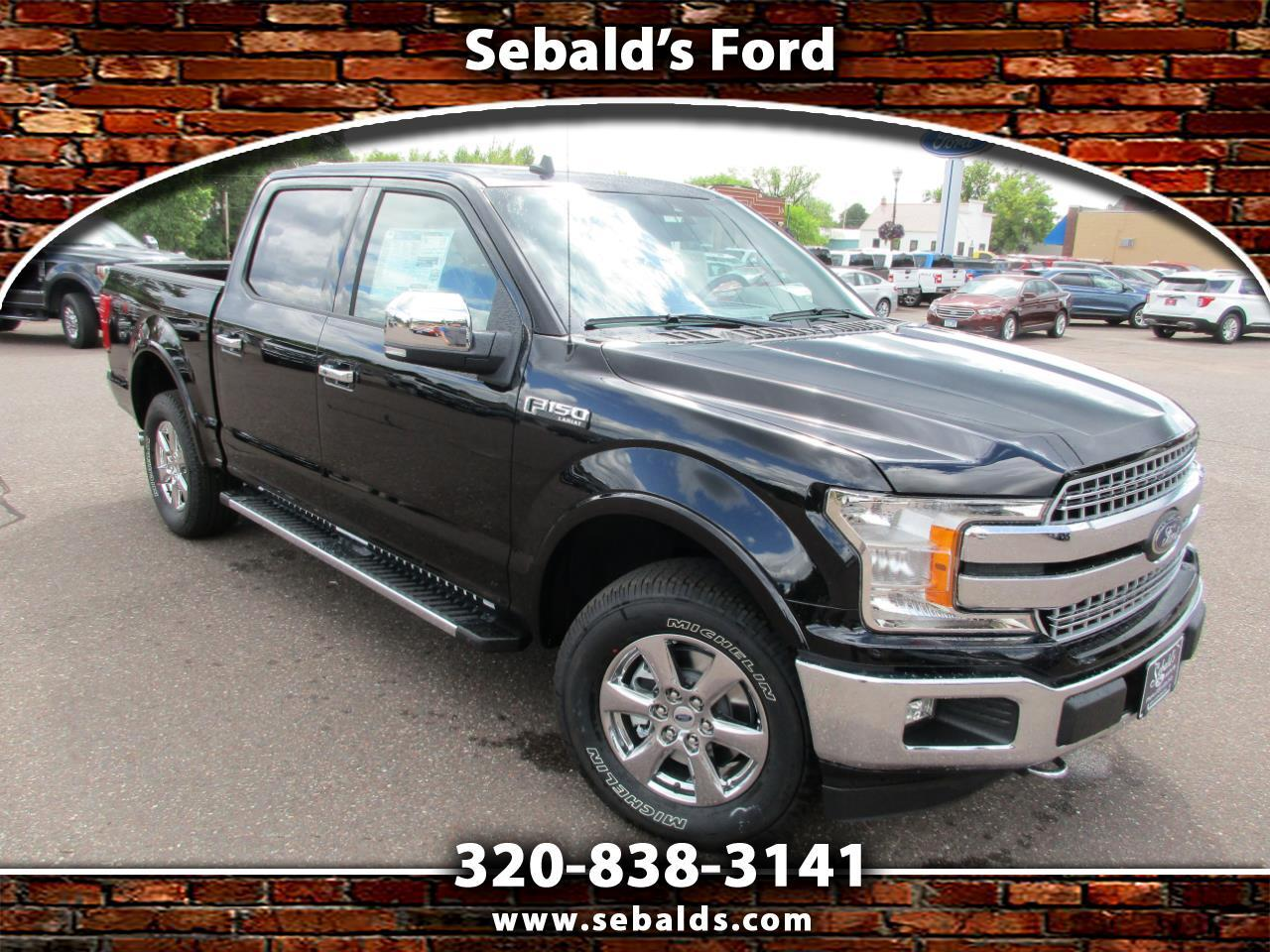 2019 Ford F-150 LARIAT 4WD SuperCrew 5.5' Box