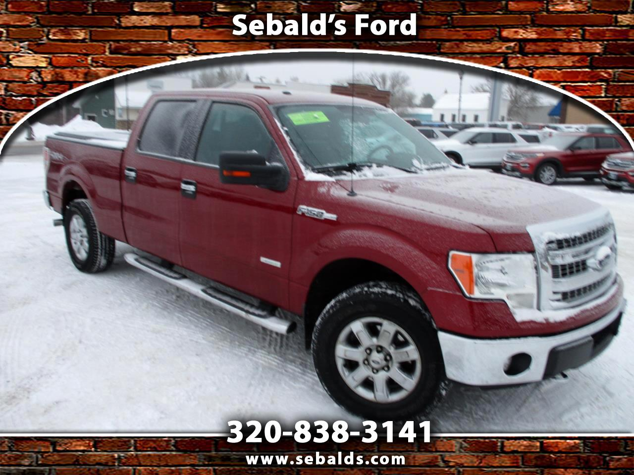 "Ford F-150 4WD SuperCrew 157"" XLT 2014"