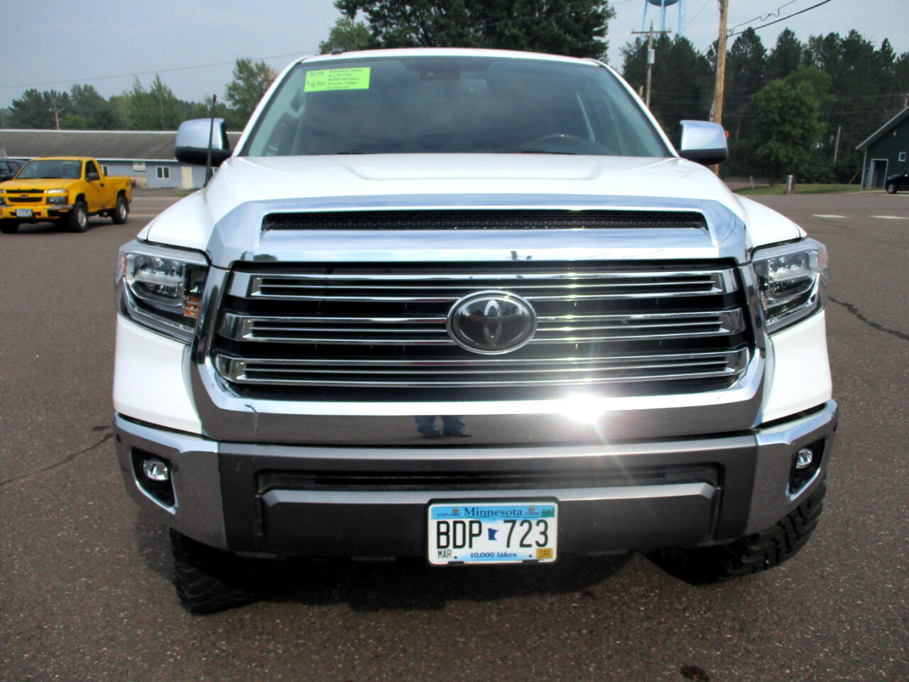Used 2018 Toyota Tundra 1794 Edition with VIN 5TFAW5F19JX738856 for sale in Askov, Minnesota