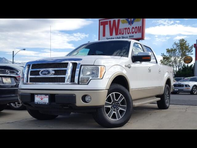 2010 Ford F-150 King Ranch SuperCrew 6.5-ft. Bed 4WD