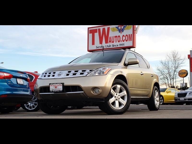 2006 Nissan Murano AWD 4dr SL