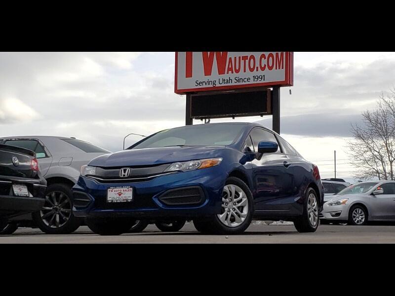 2015 Honda Civic LX coupe
