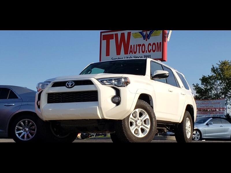 Toyota 4Runner SR5 Premium 4WD (Natl) 2016