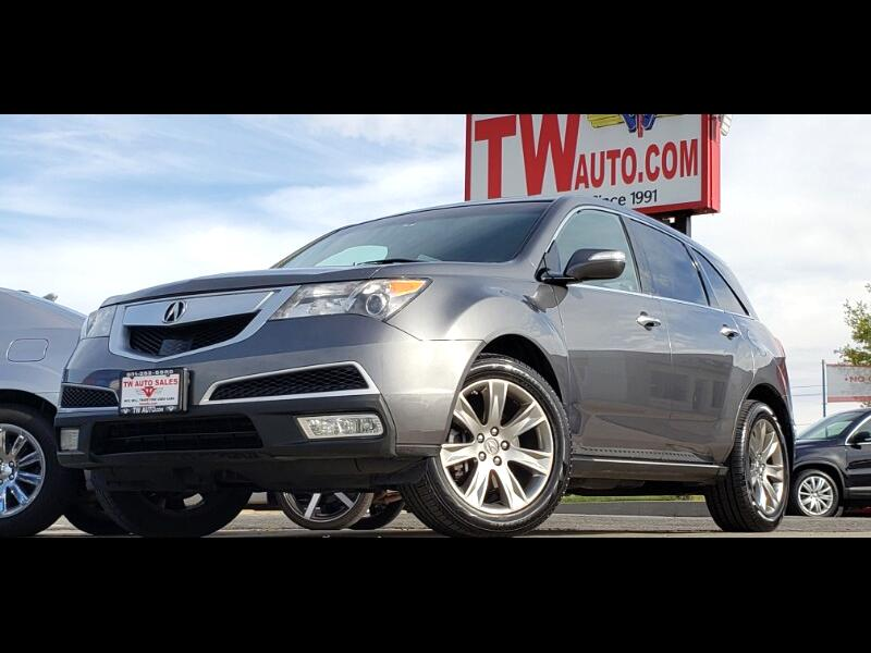 Acura MDX 6-Spd AT w/Advance and Ent. Pkg 2010