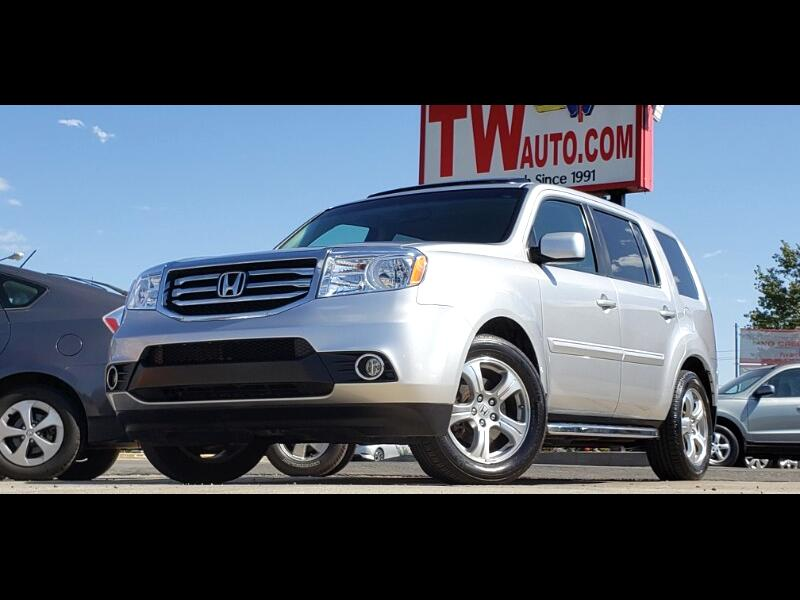 Honda Pilot EX-L 4WD 5-Spd AT with Navigation 2014