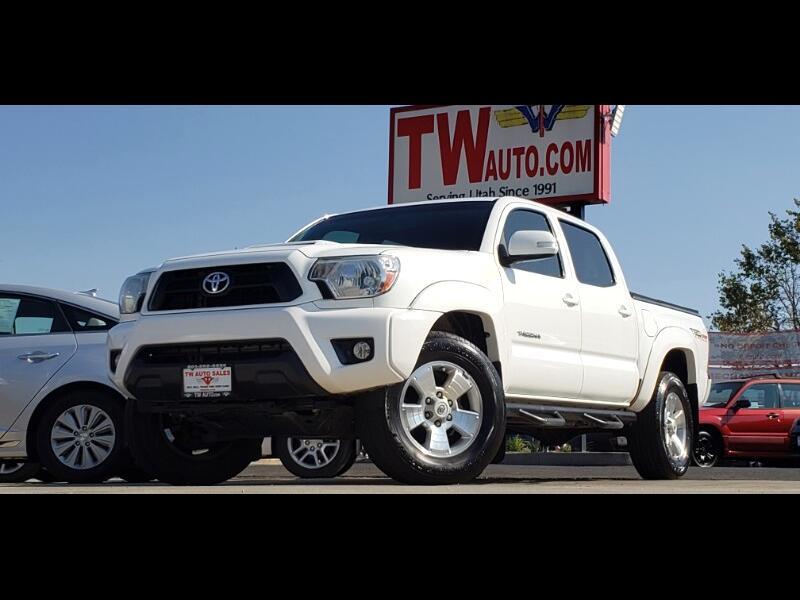Toyota Tacoma Double Cab V6 5AT 4WD 2014
