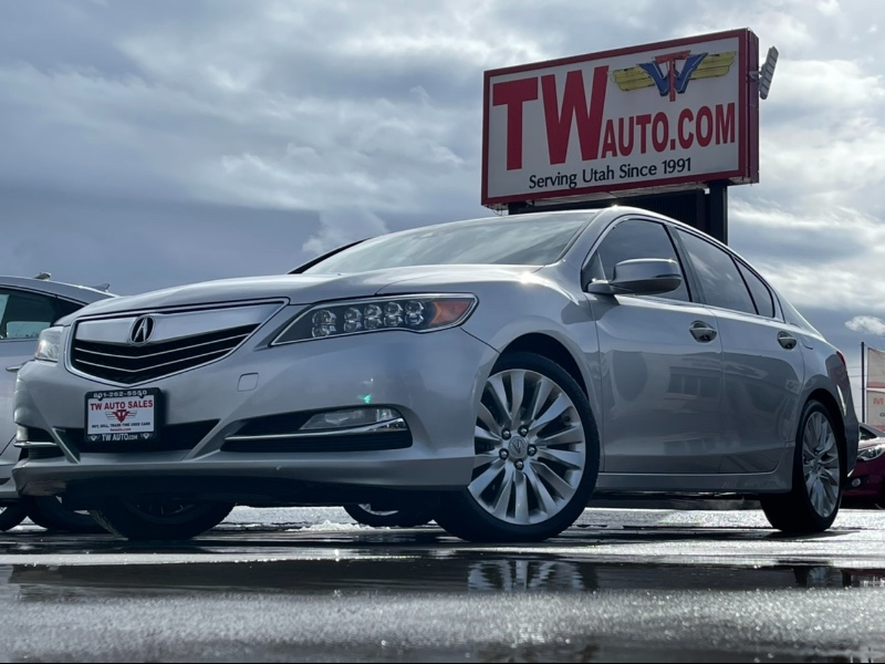 Acura RLX 6-Spd AT w/Technology Package 2014