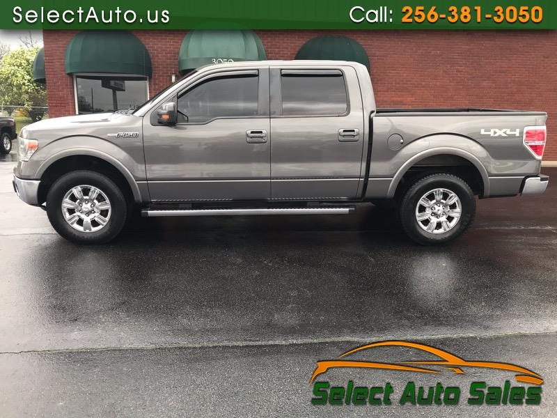 Ford F-150 Lariat 4WD SuperCrew 5.5' Box 2013