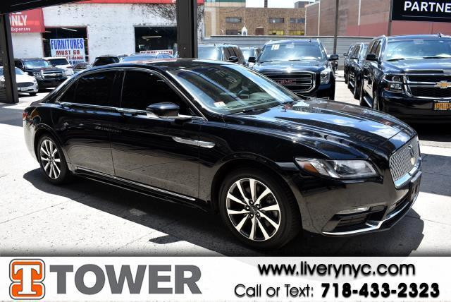 2018 Lincoln Continental Livery AWD