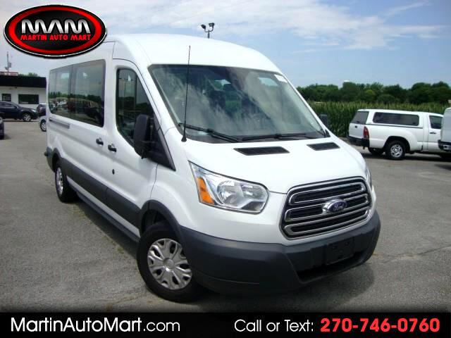 2017 Ford Transit 150 Wagon Med. Roof XLT w/Sliding Pass. 130-in. WB