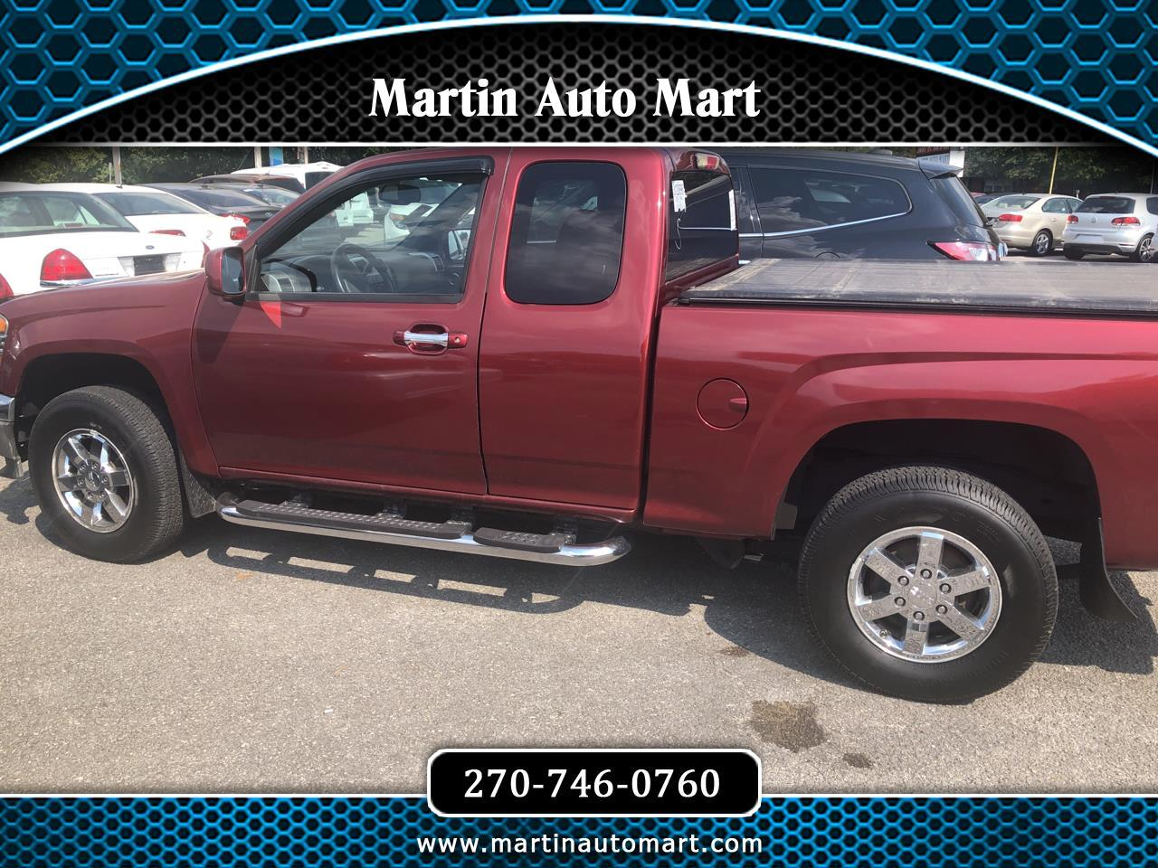 2011 GMC Canyon 4WD Ext Cab 125.9