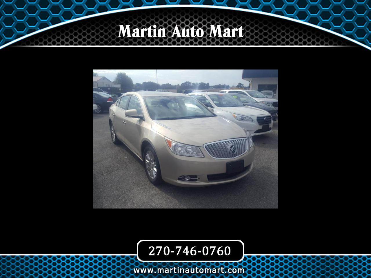 Buick LaCrosse 4dr Sdn Leather FWD 2012