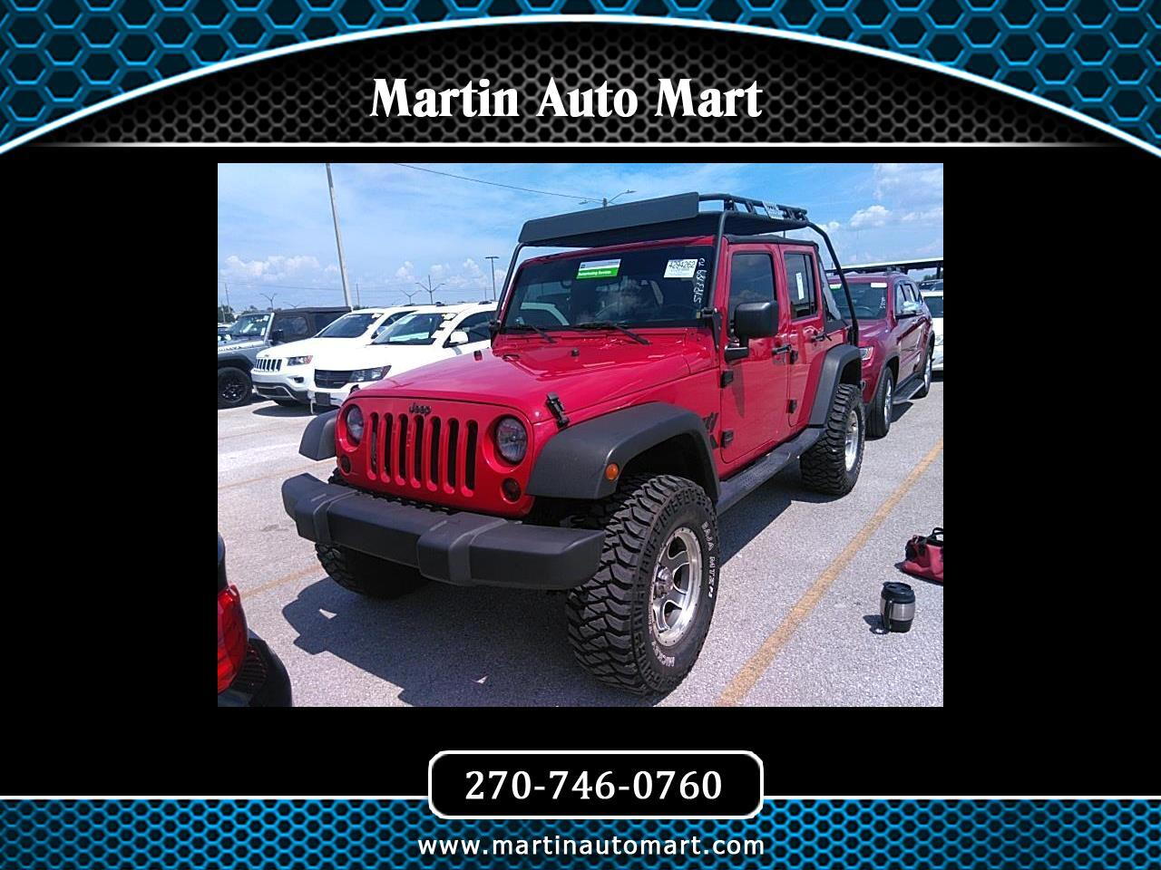 Jeep Wrangler 2WD 4dr Unlimited X 2007