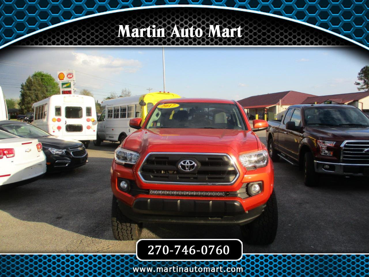 Toyota Tacoma 4WD TRD Off Road Double Cab 5' Bed V6 MT (Natl) 2017