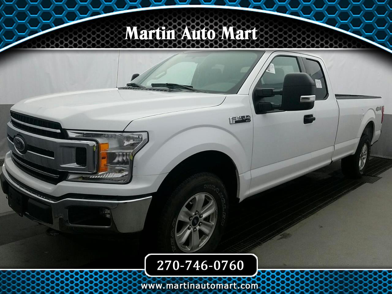 "Ford F-150 4WD SuperCab 133"" XLT 2018"