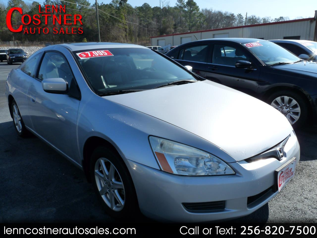 2004 Honda Accord Cpe EX Auto V6 w/Leather/XM