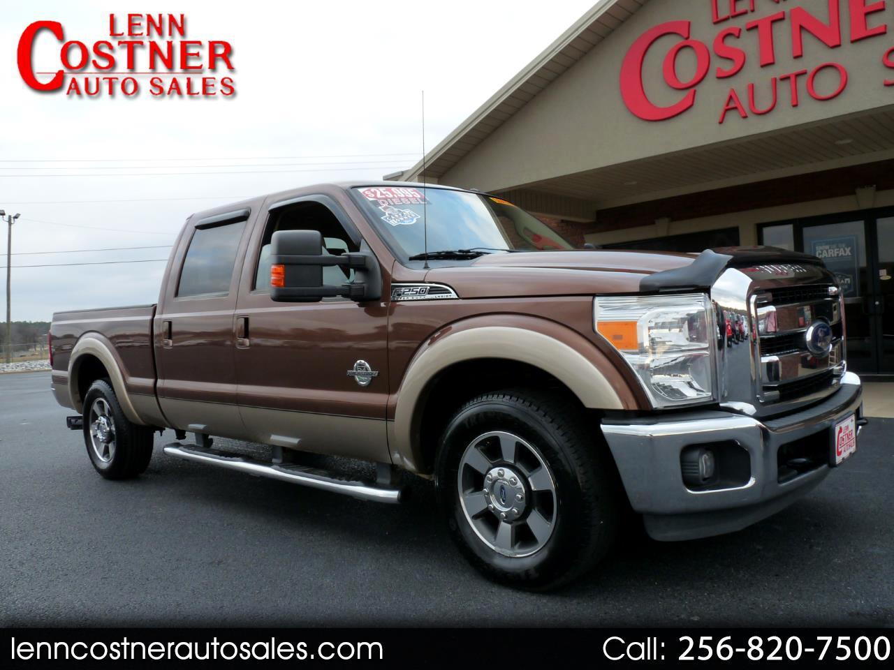 2011 Ford Super Duty F-250 SRW 2WD Crew Cab 156
