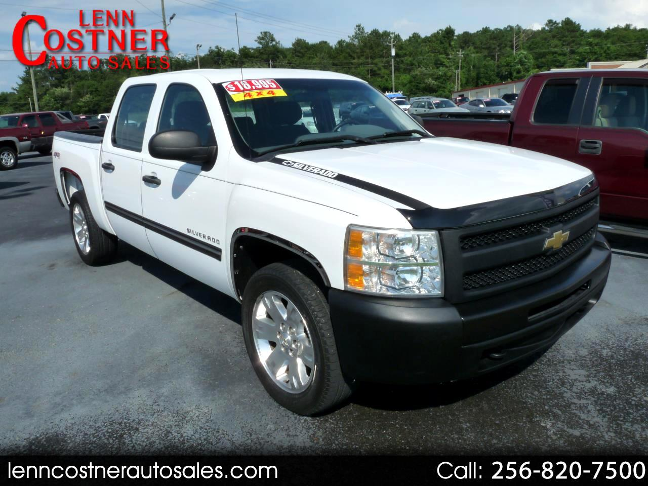"2011 Chevrolet Silverado 1500 4WD Crew Cab 143.5"" Work Truck"