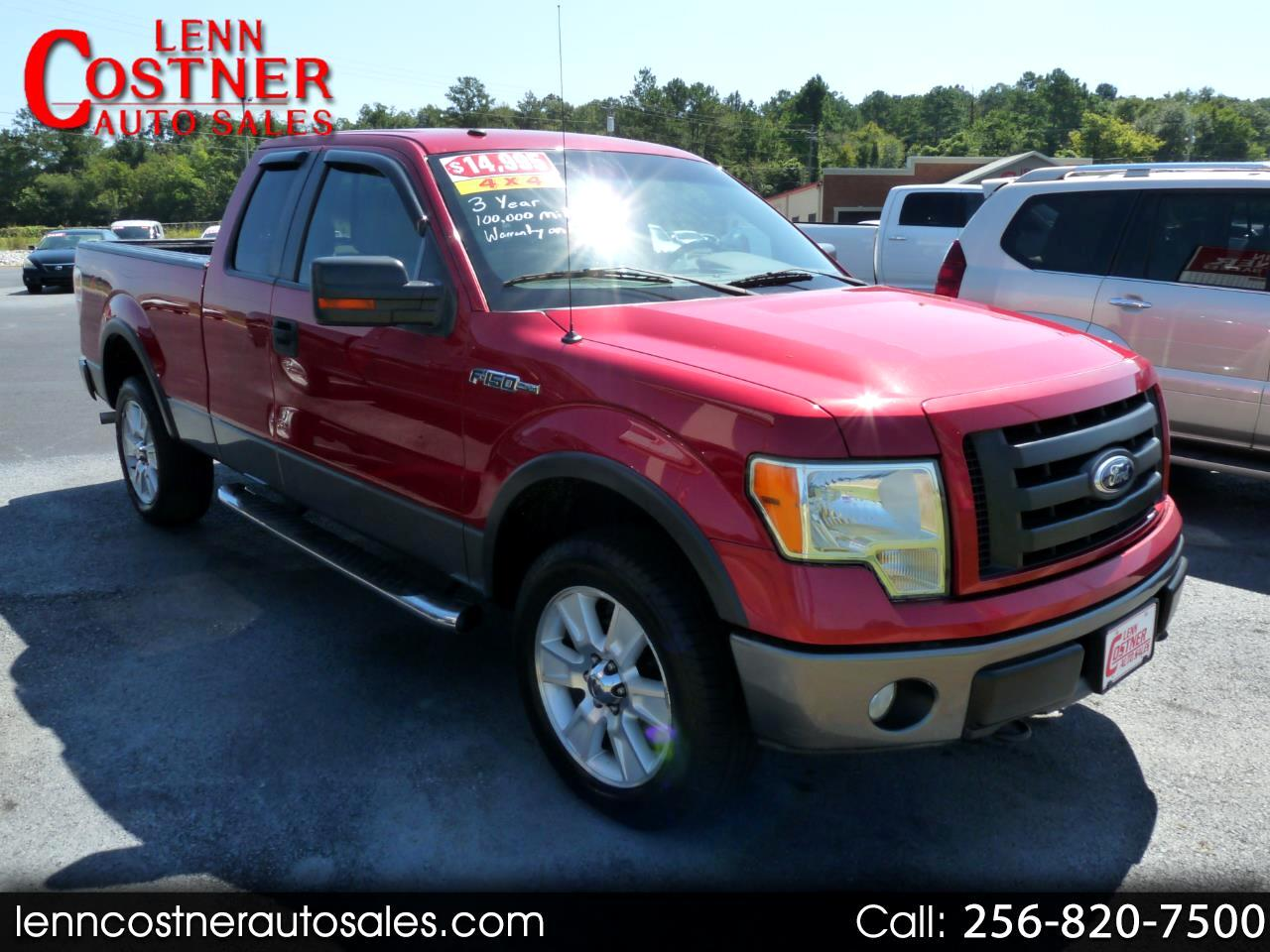 "2009 Ford F-150 4WD SuperCab 145"" FX4"