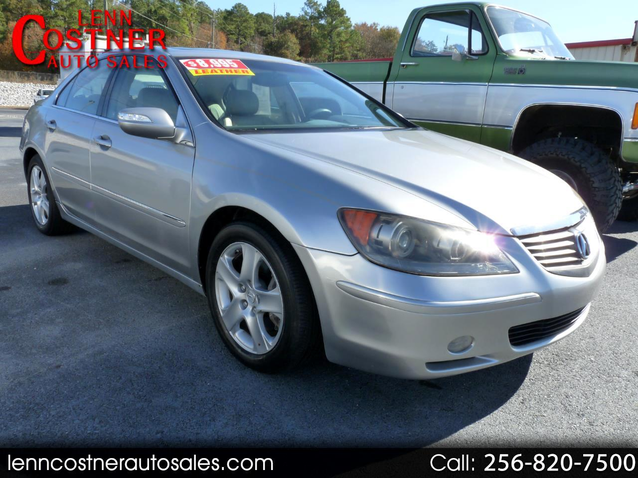 Acura RL 4dr Sdn Tech/CMBS w/PAX (Natl) 2008