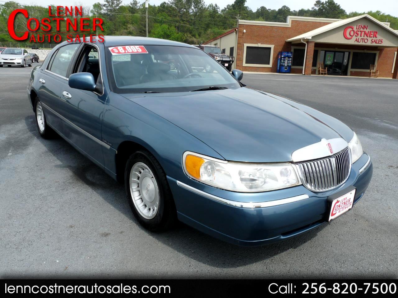Lincoln Town Car 4dr Sdn Executive 2001