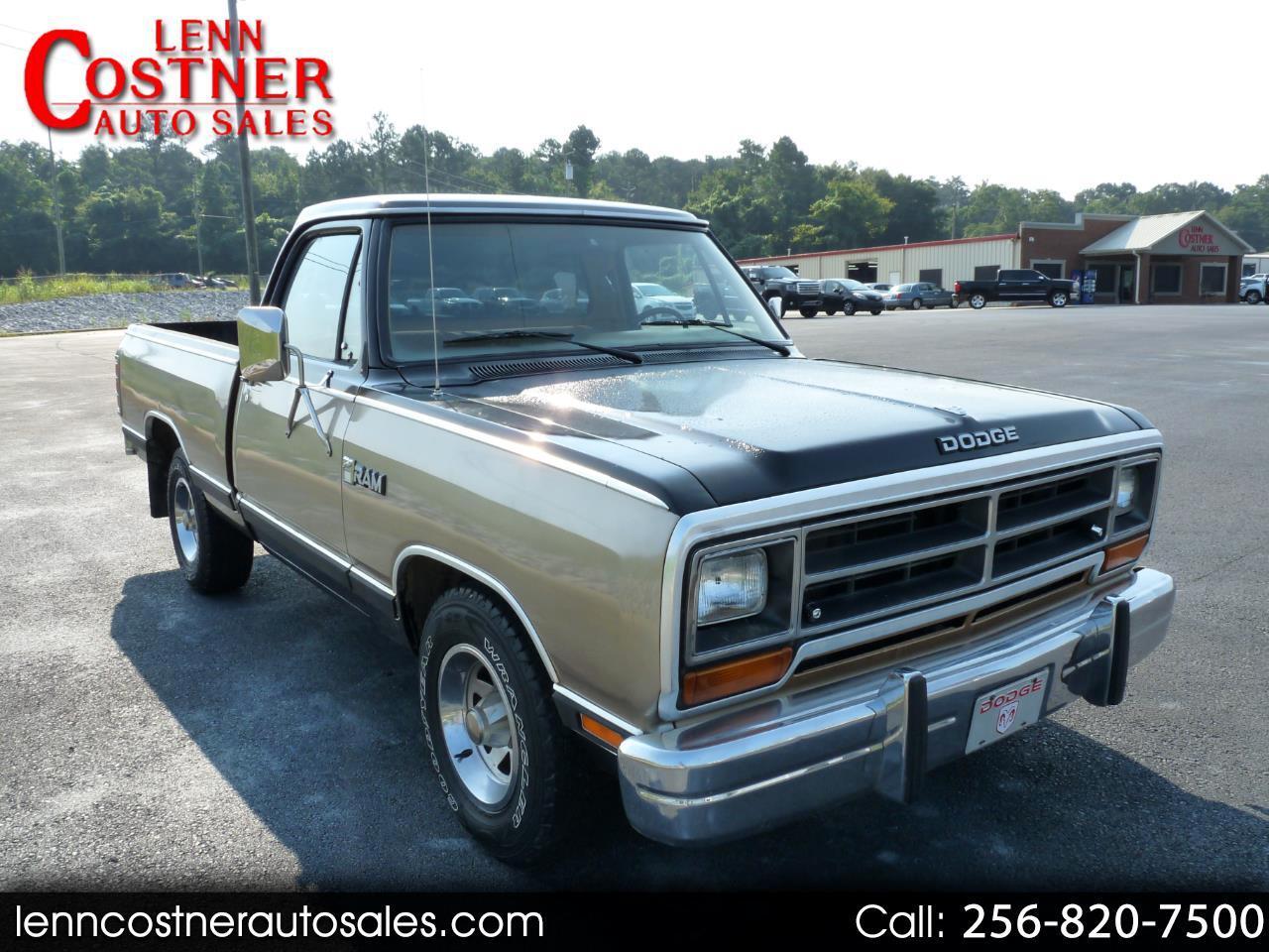 "Dodge Trucks D150 Sweptline 115"" WB 1987"