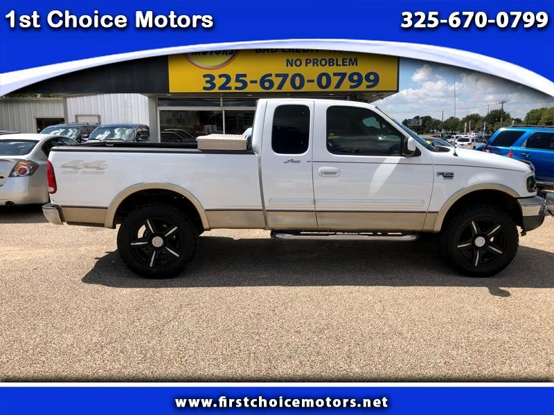 2000 Ford F-150 Lariat SuperCab Long Bed 4WD