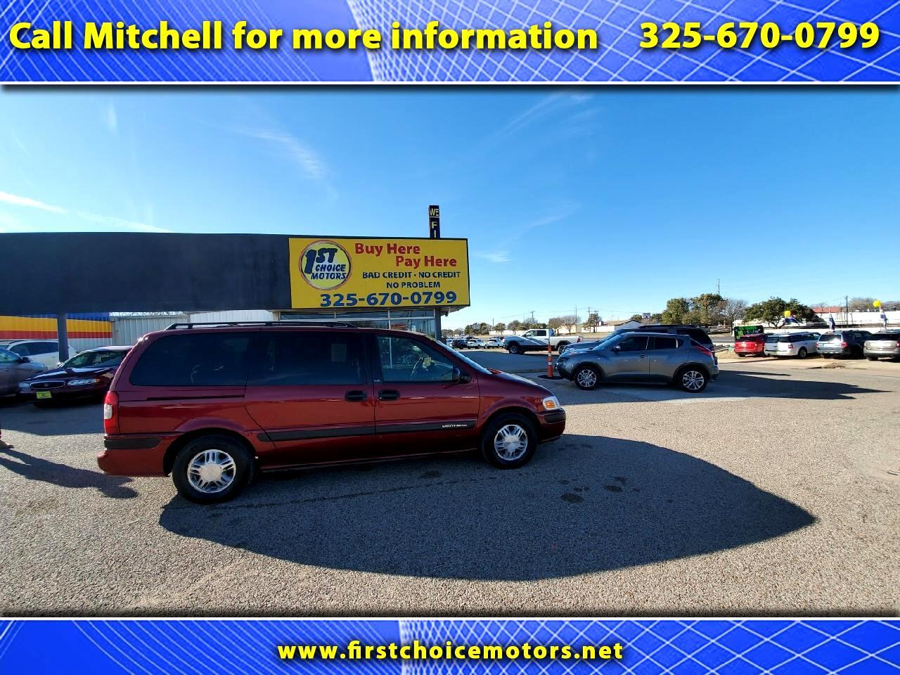 Chevrolet Venture Extended 4-Door 1999