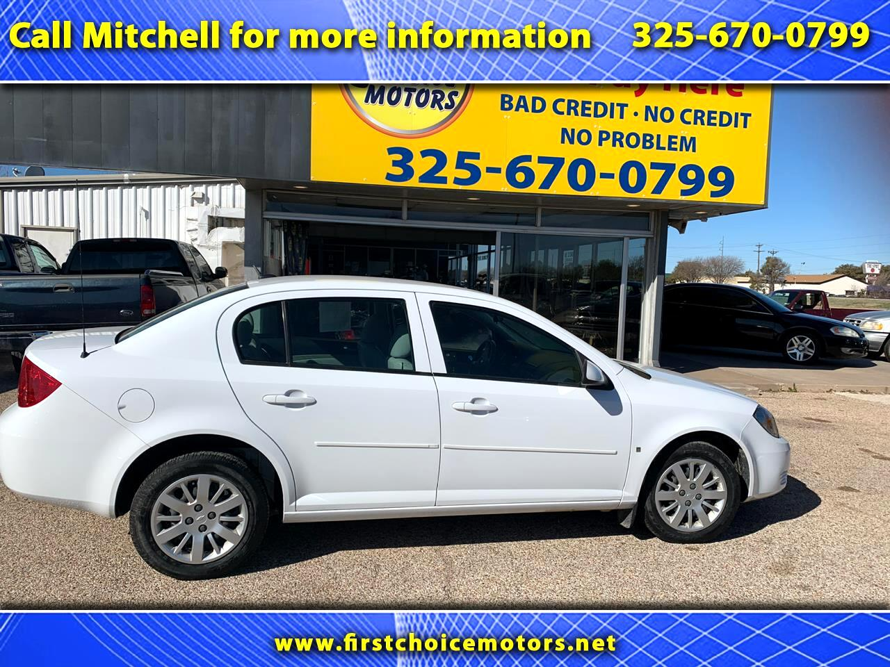 Chevrolet Cobalt LT1 Sedan 2009