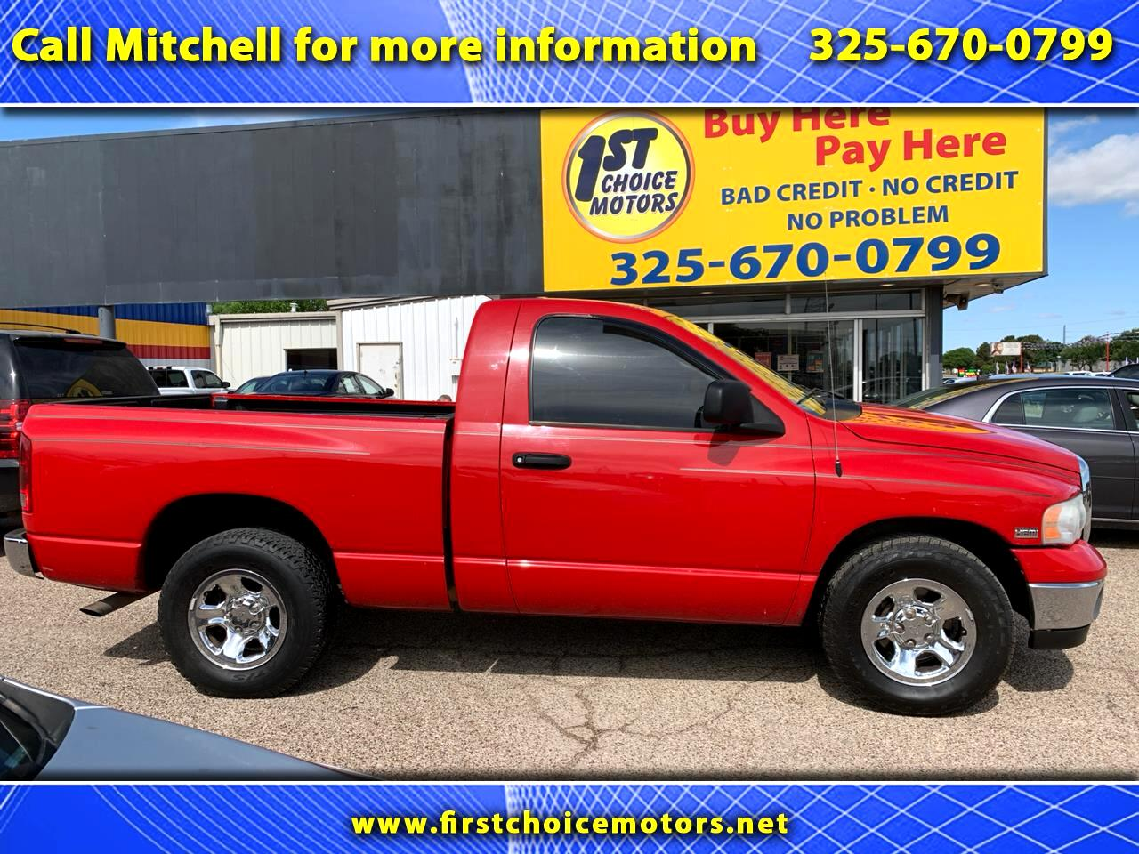 Dodge Ram 1500 ST Long Bed 2WD 2003