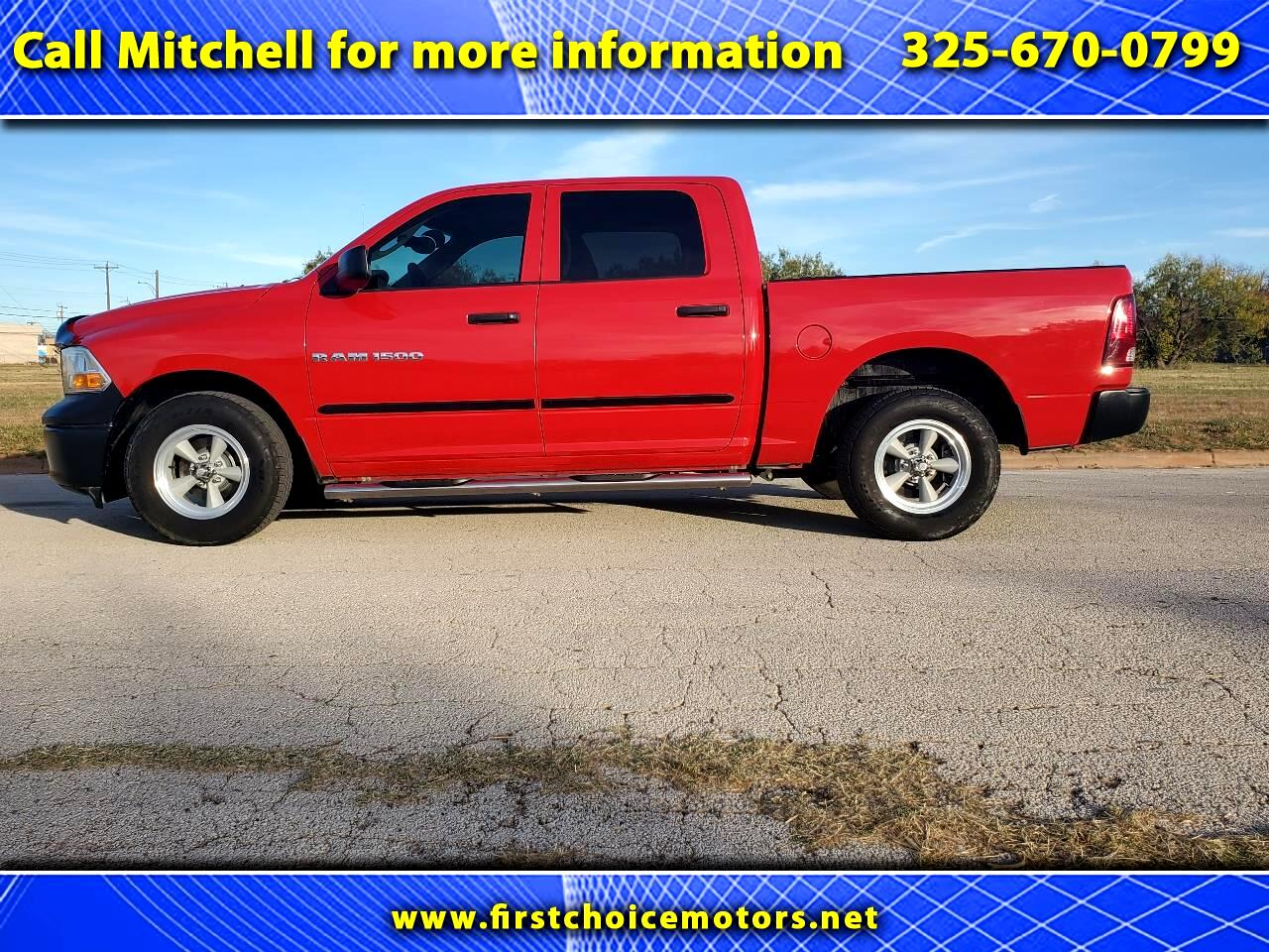 Dodge 1/2 Ton Trucks  2012