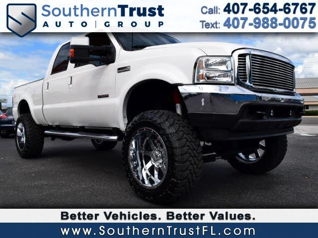 2001 Ford F-350 SD Lariat Crew Cab Long Bed 4WD